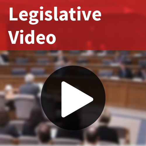 Legislative Video or Testimony